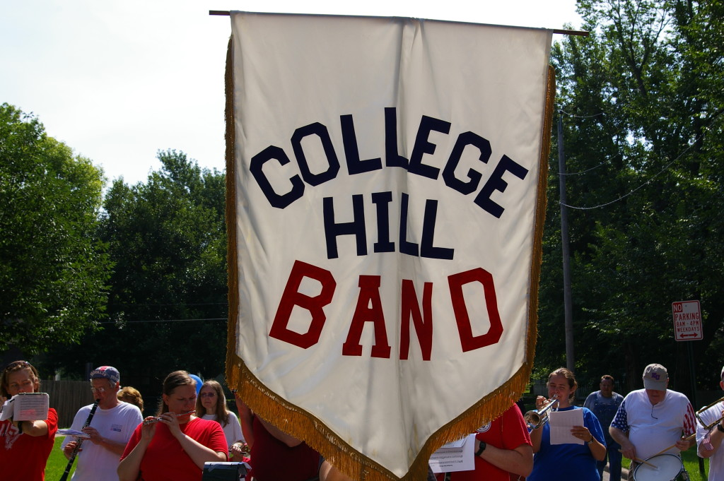 College Hill Band Banner